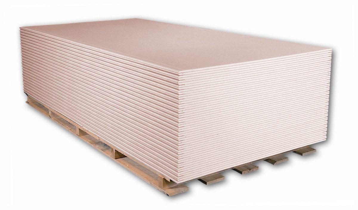 SÁDROKARTON Rigips RFI - impregnovaná, protipožární 12.5 mm, 2000/1250 mm, cena za 1m2