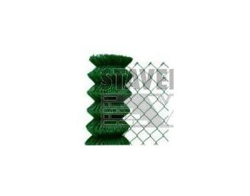 BOPPE BUCHLOVAN 4 hranné pletivo s úpravou PVC výška 150cm bez napínacího drátu