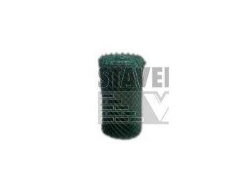 BOPPE BUCHLOVAN 4 hranné pletivo s úpravou PVC výška 150cm se zapleteným napínacím drátem