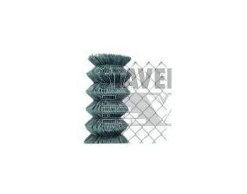 BOPPE MORAVAN 4 hranné pletivo pozinkované výška 150cm bez napínacího drátu