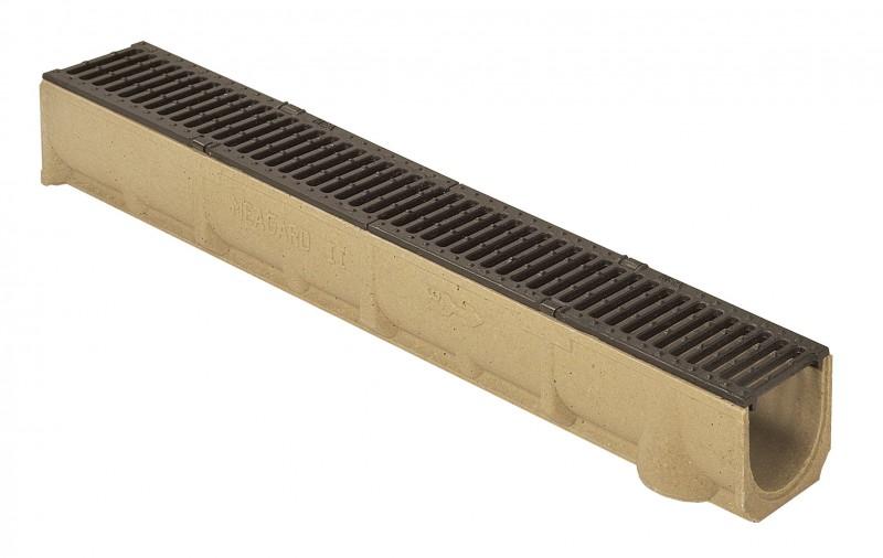 RONN SELF 100 odvodňovací žlab s litinovým roštem 0,5 m
