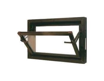 Sklepní okna MEALON 80x60 14mm hnědé