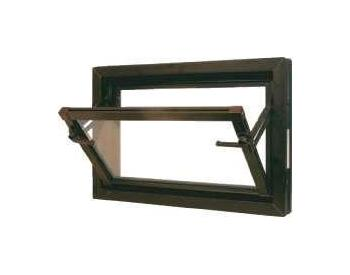 Sklepní okna RONN PLUS 100x70 jednoduché sklo 5,5mm hnědé