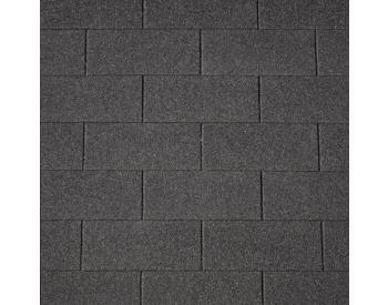 IKO SUPERGLASS Asfaltový šindel 02 Třpytivě černá