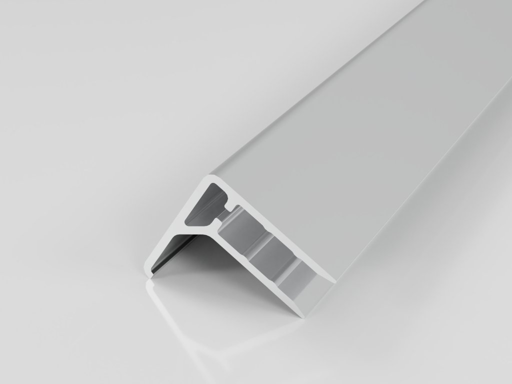 AL ukončovací/okrajový U/F profil 16mm