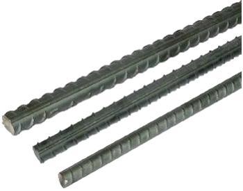 Betonářská ocel žebírková, v tyčích, délka 6 m, průměr 10 mm