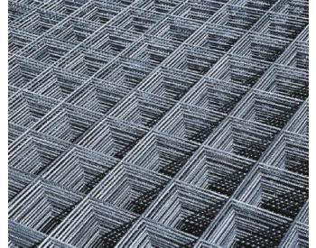 Síť do betonu typ KA16, KARI 4 mm, oko 100x100 mm, formát 3x2 m