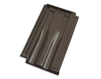 TONDACH Brněnka 14 Engoba tmavě hnědá taška základní (cena za 1 ks)