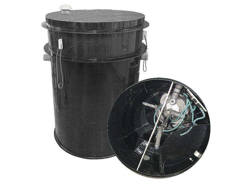 Domácí čistírna odpadních vod pro 5-10 osob - 10A, 1700x1500 (cena za 1 ks)