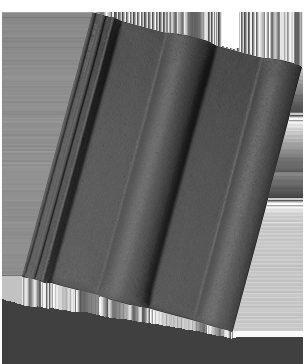 Bramac Classic taška základní břidlicově černá (cena za 1 ks)