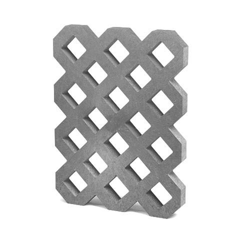 TRANSFORM Plastová zatravňovací dlažba VD800+, odlehčená, 80x60x6 cm, S (cena za 1 ks)