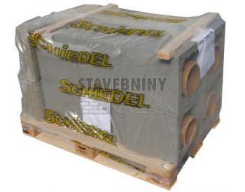 SCHIEDEL Sada střed komína UNI 14 - jednoprůduchová (cena za 1 ks)