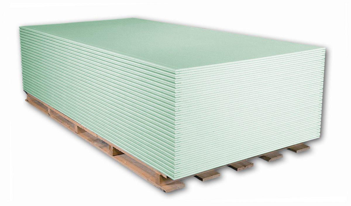 Sádrokartonová deska GKB-I - 12,5 mm - impregnovaná 2000 x 1250 .: za m2 (cena za 1 m2)
