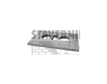 Krakorcová deska SCHIEDEL ABSOLUT dvouprůduchové s větrací šachtou (cena za 1 ks)