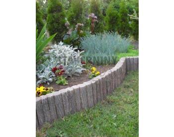 Betonová palisáda 25x39 (imitac dřeva) (cena za 1 ks)