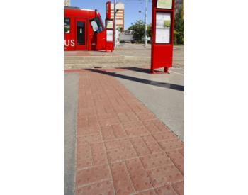 BEST - BEATON pro nevidomé standart 6 cm červená (cena za 1 m2)