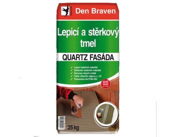 Den Braven Lepicí a stěrkový tmel QUARTZ FASÁDA 25 kg (cena za 1 ks)