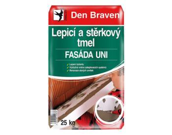 Den Braven Lepicí a stěrkový tmel FASÁDA UNI 25 kg (cena za 1 ks)