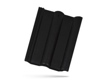 BRAMAC CLASSIC PROTECTOR betonová taška základní 1/1 ebenově černá (cena za 1 ks)
