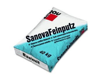 Baumit Sanova omítka štuková 40 kg (cena za 1 kg)