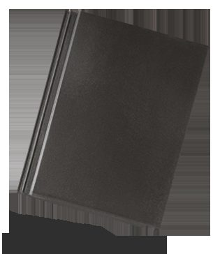BRAMAC Tegalit STAR Půlená taška ebenově černá (cena za 1 ks)