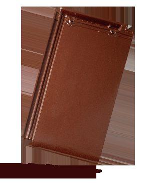 BRAMAC Turmalín taška základní 1/1 kaštanově hnědá glazura (cena za 1 ks)