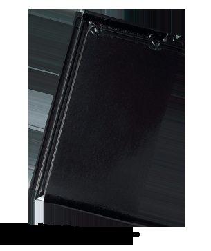 BRAMAC Turmalín taška základní 1/1 černá glazura (cena za 1 ks)