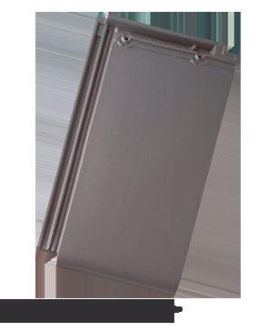 BRAMAC Turmalín taška základní 1/1 glazura šedá (cena za 1 ks)