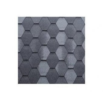 TEGOLA SHINGLE LINE PREMIUM MOSAIK 061 2-TONE GREY