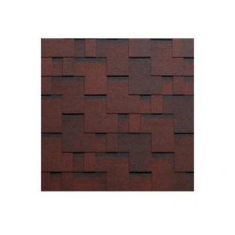 TEGOLA SHINGLE LINE PREMIUM GOTHIK 203 2-TONE RED