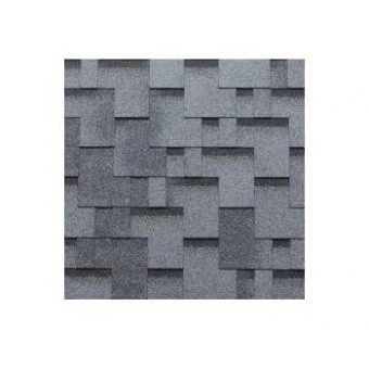 TEGOLA SHINGLE LINE PREMIUM GOTHIK 254 2-TONE GREY