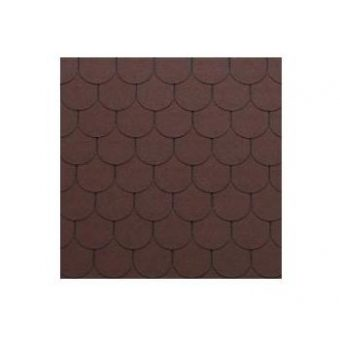 TEGOLA SHINGLE LINE PREM. TRADITIONAL 006 BRICK RED