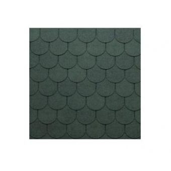 TEGOLA SHINGLE LINE PREM. TRADITIONAL 073 2-TONE GREEN