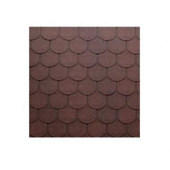 TEGOLA TOP SHINGLE TRADITIONAL 010 2-TONE RED