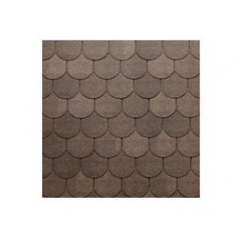 TEGOLA TOP SHINGLE TRADITIONAL 020 2-TONE BROWN