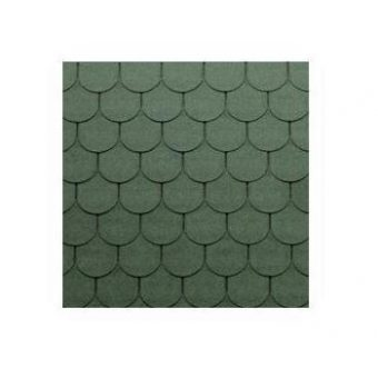 TEGOLA TOP SHINGLE TRADITIONAL 075 GREEN
