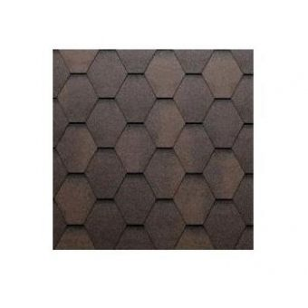 TEGOLA ECO ROOF HEXAGONAL 239 BROWN